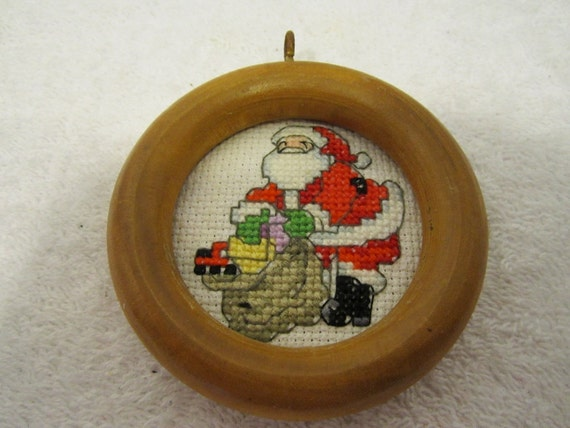 Santa & HIs Bag of GIfts Christmas Tree Ornament