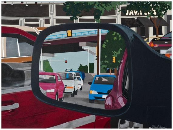 "Traffic Vision: Art Print  24"" x 32"""