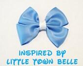 Little Town Belle Hair Bow Disney Inspired