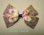 Jungle Cruise Hair Bow Disney Inspired