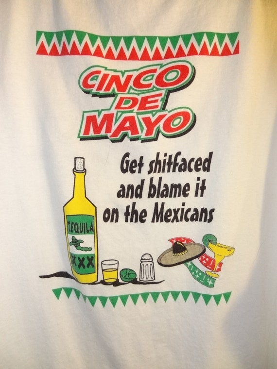 Cinco De Mayo Get Shit Faced Tank Top