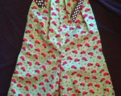 Pillow Case Romper Lady Bug Dot Fabric Size 2T Ready to ship