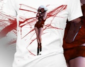 Women T-shirt Lady Gaga