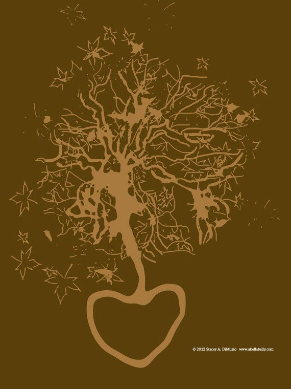 Personalized Placenta Print - Digital Rendering