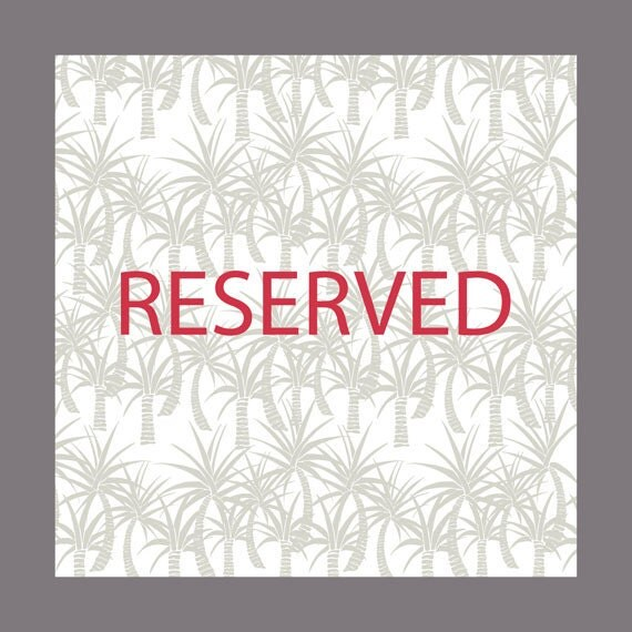 Reserved for Kirsteen only - Leather bound Notebook