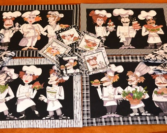 Chef Placemat Set