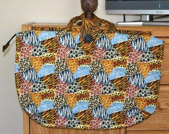 Safari Over-sized Tote Bag
