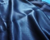 SALE -- Colored weaving jacquard silk fabric for sewing -- 50% off