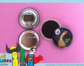 dickdoodles Illustration Magnet