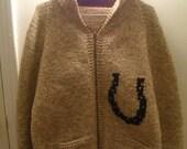 Vintage Mary Maxim sweater, OOAK