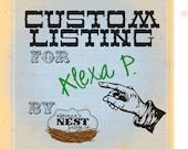 Custom Listing for Alexa P.