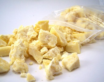 1/2 LB Raw Natural Cocoa Butter - 8 oz