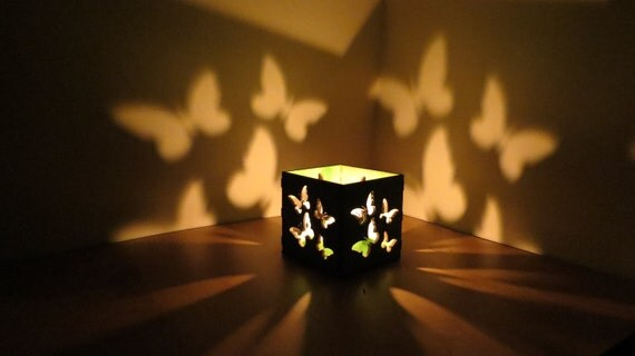 Butterfly Lantern Lamp Table Light