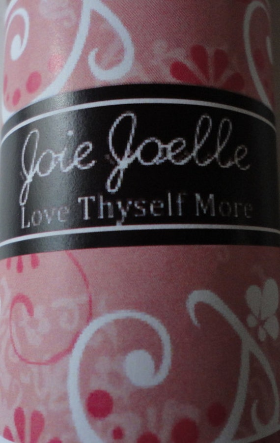 Love Thyself More Pink & White Spell Candle Set All Naturally Dressed with Herbs and Energy stone with  Love Thyself oil