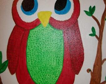 Original Owl Artwork