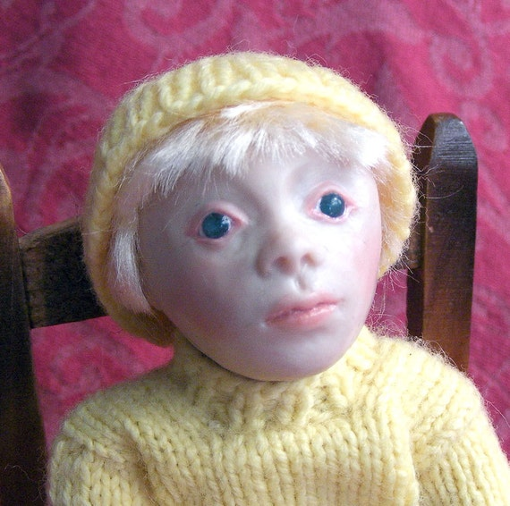 Albin OOAK Albino Child Doll