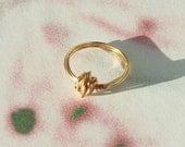 Tumbleweed Ring (Gold)