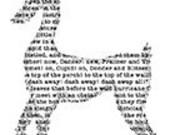 Text Reindeer - UM Rubber Stamp
