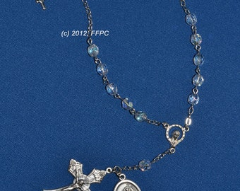 Saint Christopher Rear View Mirror Rosary