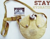 stay hydrated - vintage boy scouts canteen - camping