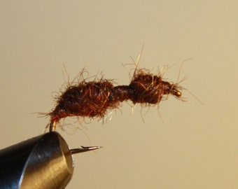 Fisherman's Fly Fishing Flies - Summer's here and the time is right - Terrestrials are a tasty snack - Brown Ant on a number 10 hook