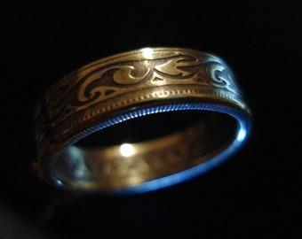 Turkey, 100 Milim Coin Ring