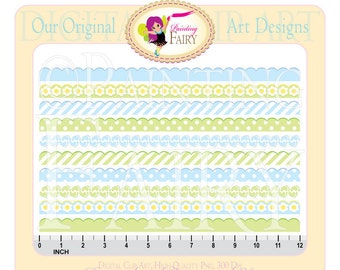 Clipart Buy 2 get 1 Free Cute Baby's footprints scrapbook embellishments clipart designer layout digital Personal & Commercial use pf00017-5