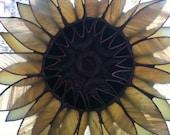 """3-D Sunflower  Sculpture Wall Art 7"""""""