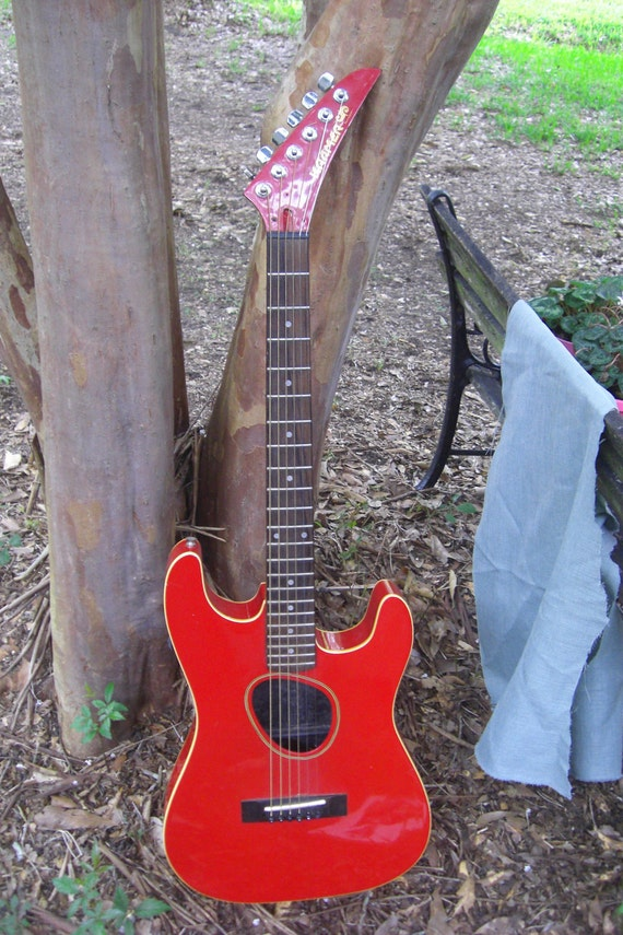 Vintage 1980's  Kramer Ferrington Acoustic Guitar