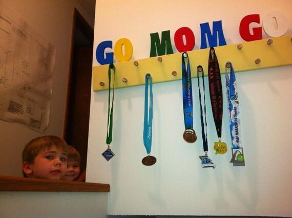 Go Mom Go Runners Medal Holder