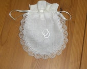 Handmade Lace Ring Bag