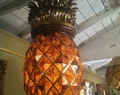 Gorgeous Maitland Smith HUGE Pineapple Chandelier