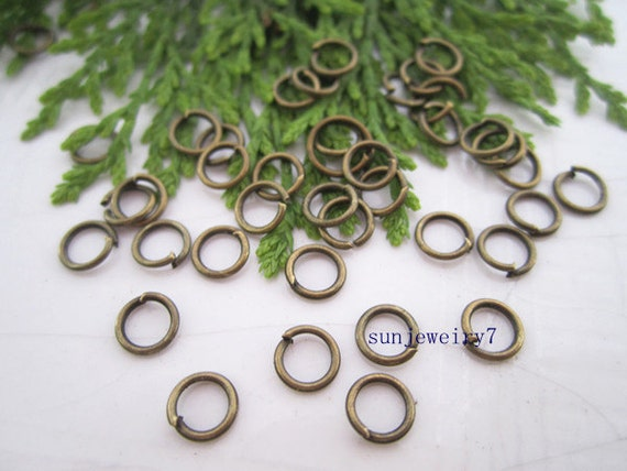 500pcs 5mmx0.7mm  Bronze color Metal Jump ring  for Jewelry Making