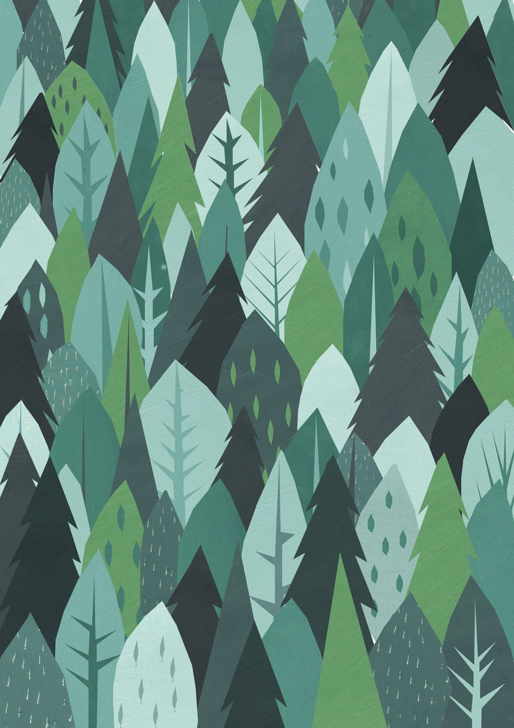 Forest Gift Wrap