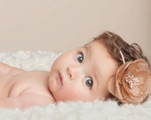 Baby Headbands Newborn Baby girl Headbands Photography Prop- Pink Purple & Brown