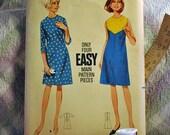 vintage Butterick Dress Sewing Pattern No. 4186