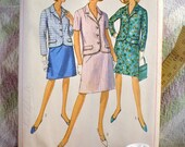 Vintage Dress Sewing Pattern No. 6893 by Simplicity