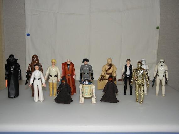 Original Star Wars Toys : Star wars original mail away action figures
