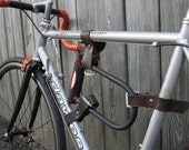 Items Similar To Reclaimed Leather U Lock Holder For Your Bike On Etsy