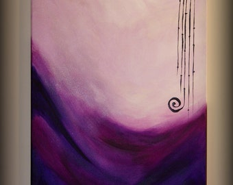 Original painting with acrylic and metallic paints.