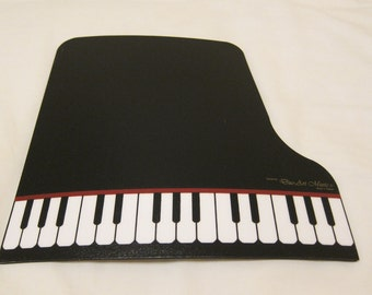 Grand Piano Mouse Pad (Black or Maroon)