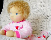 Doll-Baby 1 Waldorf - for the game - 20 inch - Finished dolls made from natural materials
