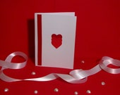 Three Red Hearts Greeting Card - Perfect For A Loved One On Any Occasion