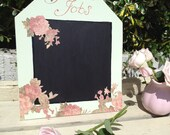 Summer Garden Shabby chic  Chalkboard, Blackboard, Messages, To do list