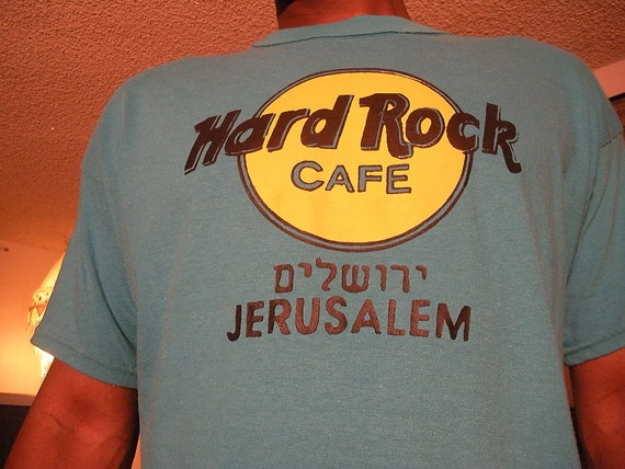 Hard Rock Cafe T Shirt Israel