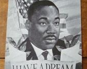 Vintage I Have A Dream Postcard - Dr. Martin Luther King