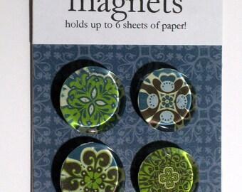 Green Medallion magnets