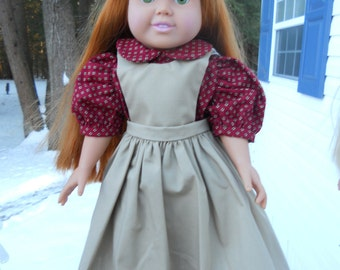 Two piece school dress with jumper