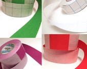 12 inch Sampler Pack 1.125 inch Adhesive Fabric Book Cloth Tape Bookbinding Supplies Book Repair Tape
