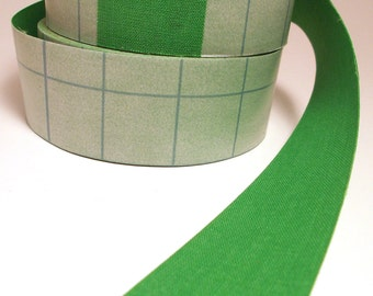 OVERSTOCK Sale Full Roll 10m Key Lime Green Adhesive Fabric Book Cloth Tape Bookbinding Supplies Book Repair Tape